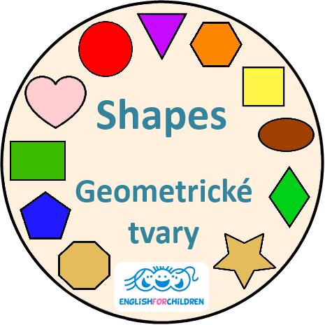 Geometrické tvary - Shapes